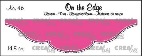 Crealies On the Edge die stans no. 46 CLOTE46 14,5 cm (08-20)