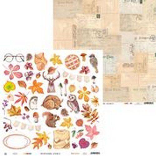 Piatek13 - Paper The Four Seasons - Autumn 07 P13-AUT-07 12x12(08-20)