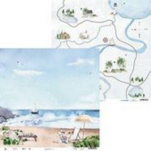 Piatek13 - Paper Beyond the Sea 02 P13-SEA-02 12x12(08-20)