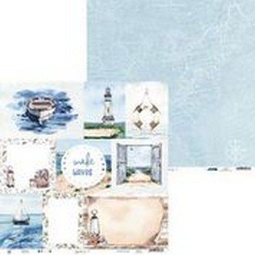 Piatek13 - Paper Beyond the Sea 05 P13-SEA-05 12x12(08-20)