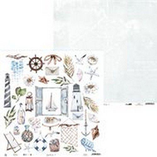 Piatek13 - Paper Beyond the Sea 07 P13-SEA-07 12x12(08-20)