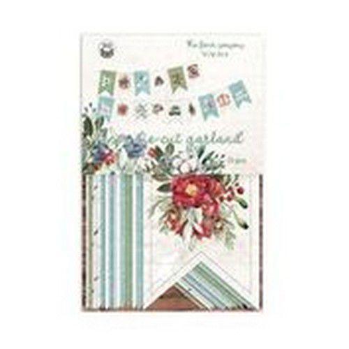 Piatek13 - Paper die cut garland The Four Seasons - Winter P13-WIN-32 (08-20)