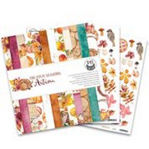 Piatek13 - Paper pad The Four Seasons - Autumn, 12x12 P13-AUT-08 (08-20)