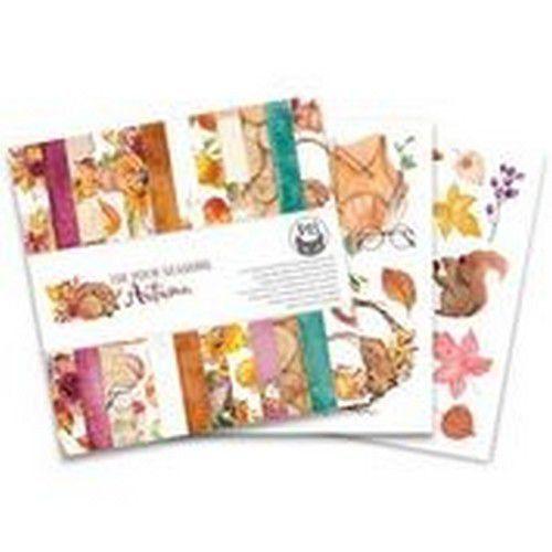 Piatek13 - Paper pad The Four Seasons - Autumn, 6x6 P13-AUT-09 (08-20)