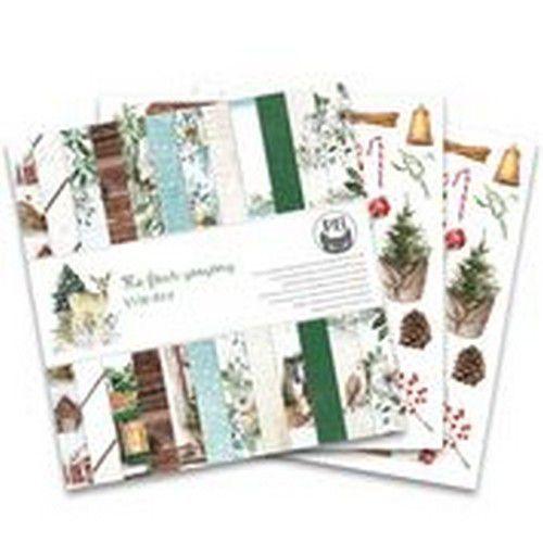 Piatek13 - Paper pad The Four Seasons - Winter, 12x12 P13-WIN-08 (08-20)