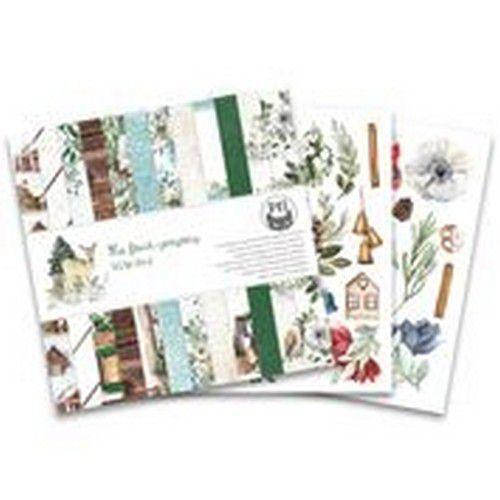Piatek13 - Paper pad The Four Seasons - Winter, 6x6 P13-WIN-09 (08-20)