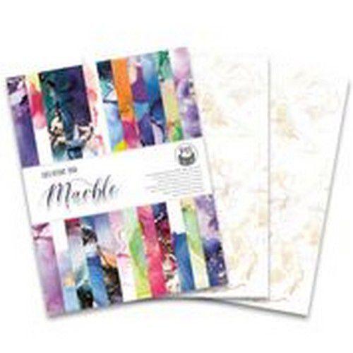 Piatek13 - Creative Paper Pad Marble, 6x8 P13-MIS-03 (08-20)