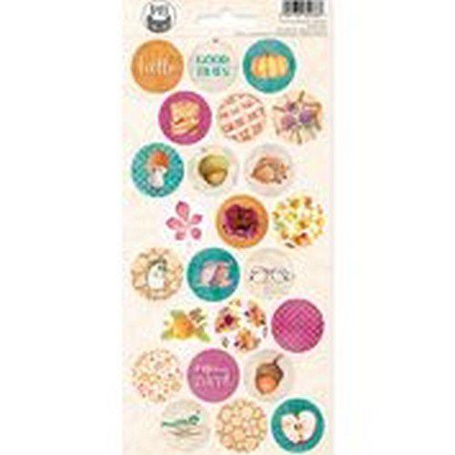 Piatek13 - Sticker sheet The Four Seasons - Autumn 03 P13-AUT-13 10,5x23cm (08-20)