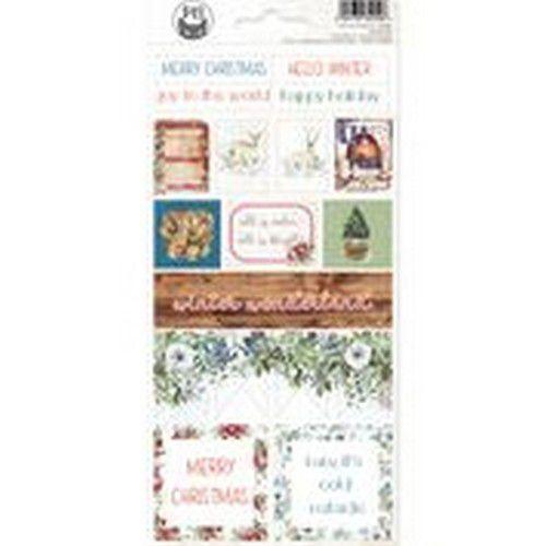 Piatek13 - Sticker sheet The Four Seasons - Winter 03 P13-WIN-13 10,5x23cm (08-20)