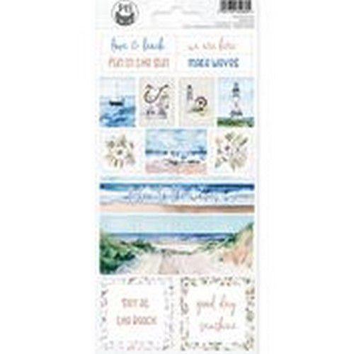 Piatek13 - Sticker sheet Beyond the Sea 02 P13-SEA-12 10,5x23cm (08-20)