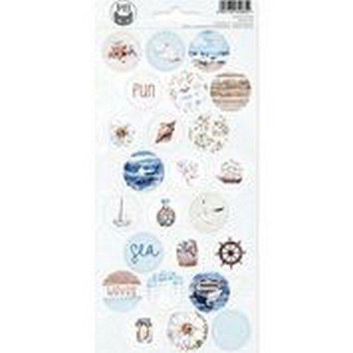Piatek13 - Sticker sheet Beyond the Sea 03 P13-SEA-13 10,5x23cm (08-20)