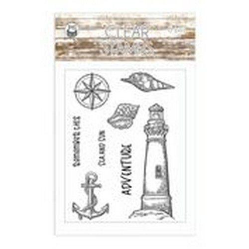 Piatek13 - Clear stamp set Beyond the Sea 01 P13-SEA-30 (08-20)