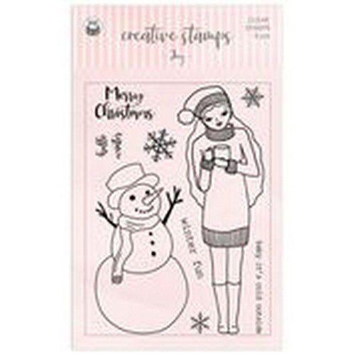 Piatek13 - Clear stamp set Joy P13-CST-02 (08-20)
