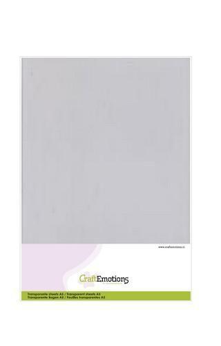 CraftEmotions Transparante sheets A5 1PK/ 10VL 3.1010