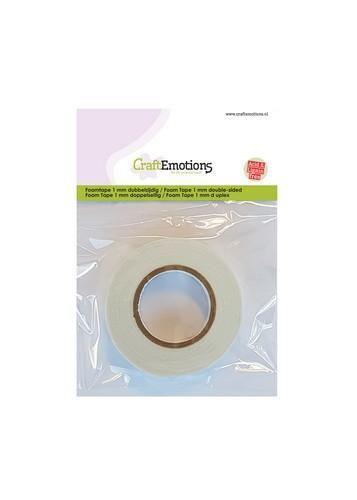 CraftEmotions Foamtape 1 mm overdoos 2 MT (62 RL) 3.3010
