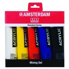 Amsterdam Acrylverf Mengset 5x120 ml