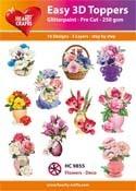 Easy 3D - Flowers-Deco
