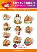 Easy 3D-Toppers Vintage Angels