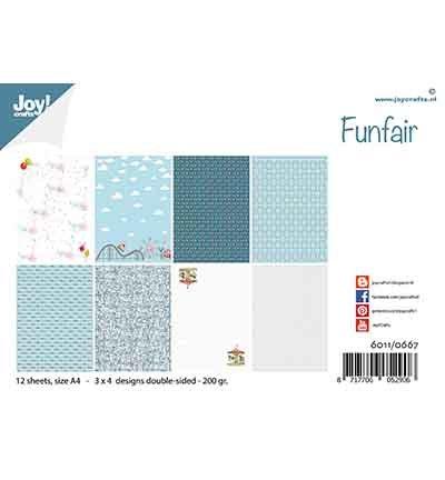 Papierset - Design Funfair