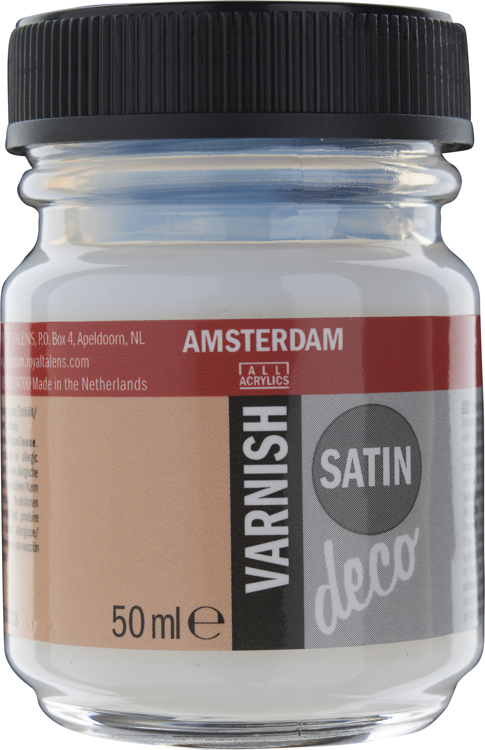 Amsterdam Varnish Satin waterbased flacon 50 ml