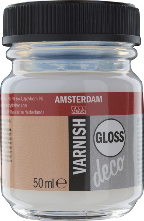 Amsterdam Varnish gloss waterbased flacon 50 ml