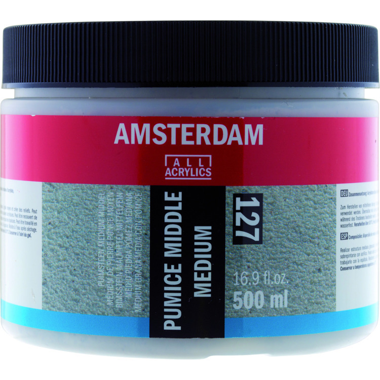 Amsterdam puimsteen medium middel 500 ml