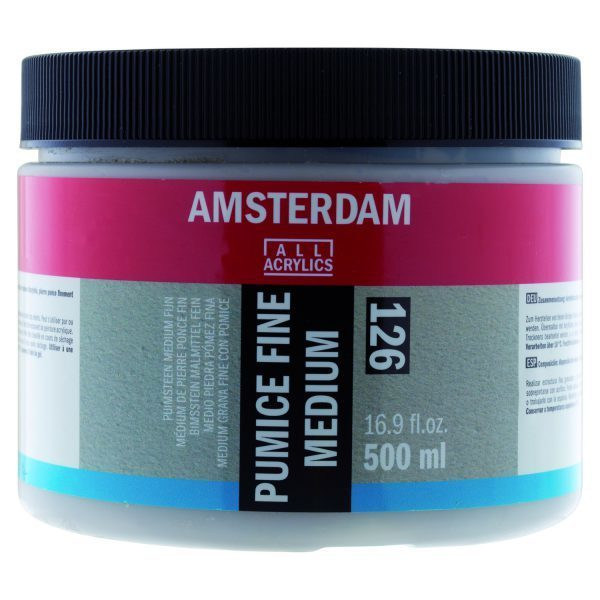 Amsterdam puimsteen medium fijn 500 ml