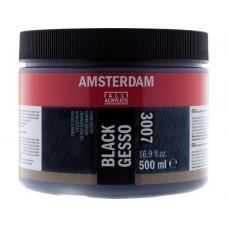 Amsterdam gesso zwart 500 ml