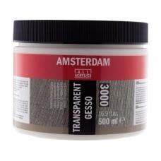 Amsterdam Gesso transparant 500 ml