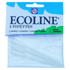 Set met 3 Ecoline Pipetten