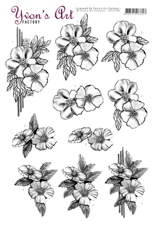 3D Cutting Sheet - Yvon's Art - Condolence