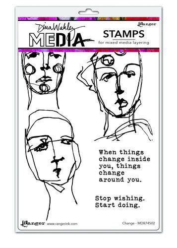 Dina Wakley Media Stamps Change   MDR74502 Dina Wakley 6x9 (09-20)