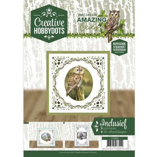 Creative Hobbydots 6 - Amy Design - Amazing Owls