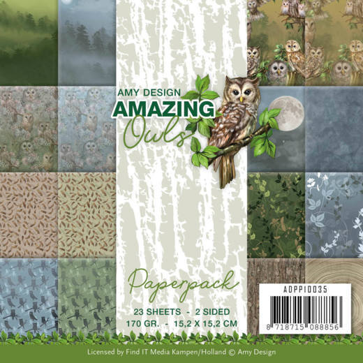 Paperpack - Amy Design - Amazing Owls