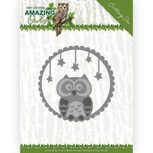 Dies - Amy Design - Amazing Owls - Night Owl