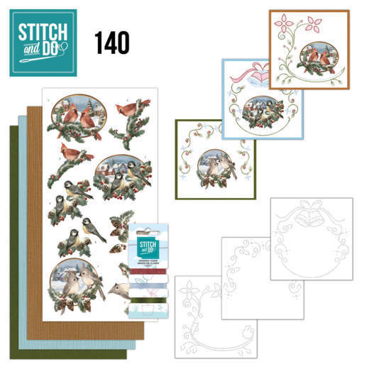 Stitch and Do 140 - Amy Design - Nostalgic Christmas - Christmas Birds
