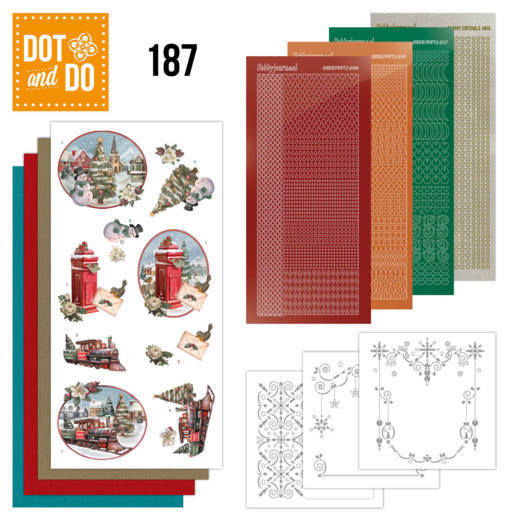 Dot and Do 187 - Amy Design - Nostalgic Christmas - Christmas Train