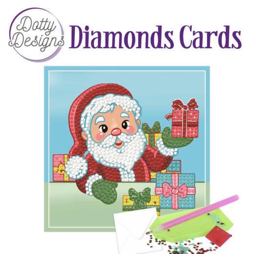 Dotty Designs Diamonds Cards - Santa