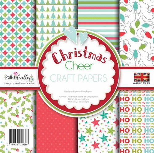 Polkadoodles Paperpack Christmas Cheer