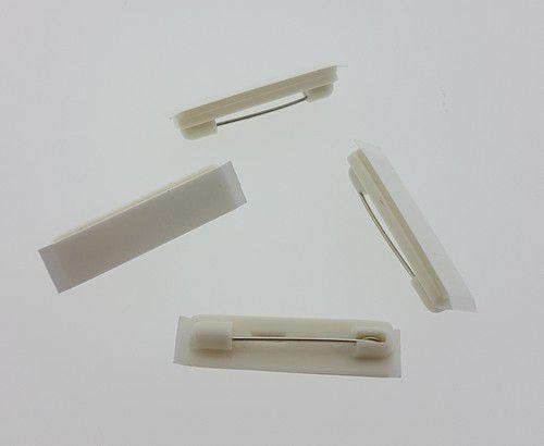 Brochespelden wit met zelfklevend foam 32mm 4 ST 11808-1162
