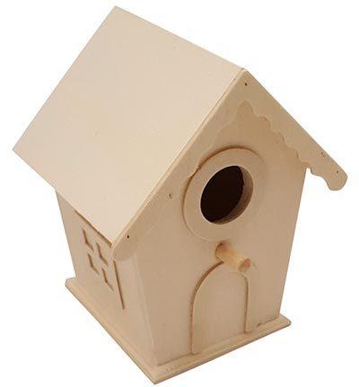Vogelhuisje huisvorm klein