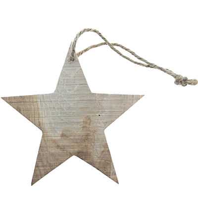 Wooden star to hang