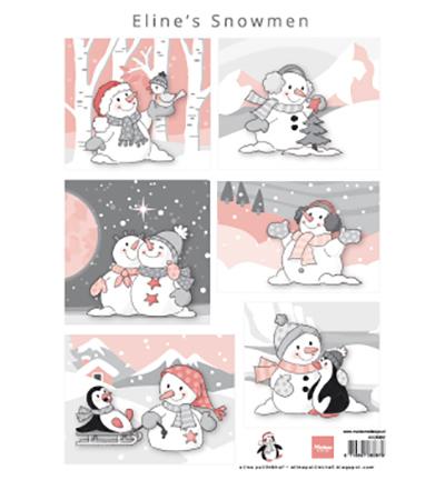 Eline's snowmen