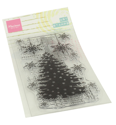 Art stamps - Christmas Tree