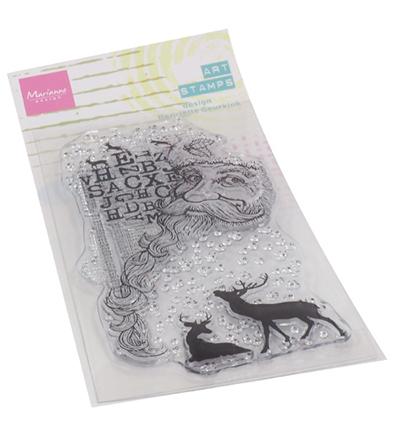 Art stamps - Santa