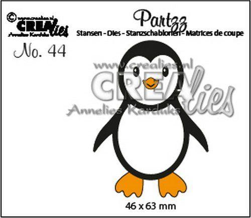 Crealies Partzz Pinguïn CLPartzz44 46x63mm (09-20)