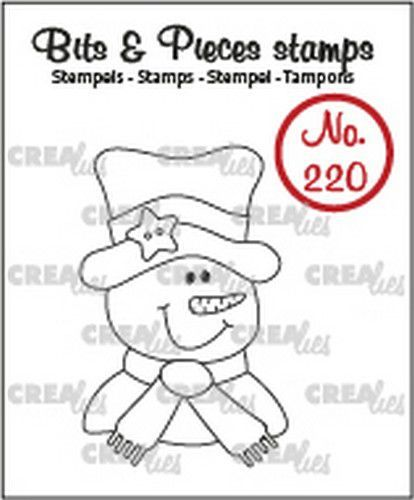 Crealies Bits & Pieces Sneeuwpop CLBP220 28x43mm (09-20)