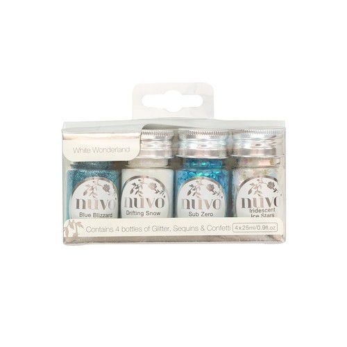 Nuvo pure sheen glitter - White Wonderland 4 pk 308N (10-20)