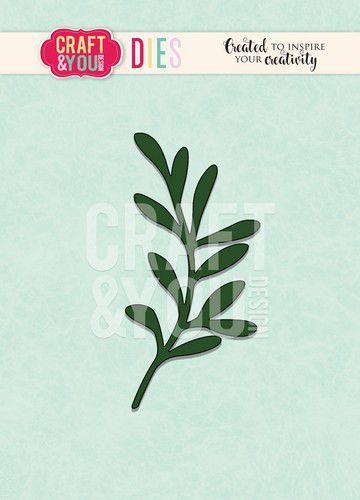 Craft&You Cutting Die Mistletoe tak CW092 (09-20)