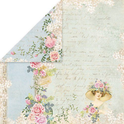 Craft&You Gone with the Wind Scrapbooking single paper 12x12 CP-GWW04 (09-20)